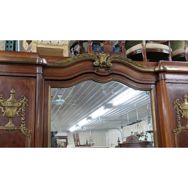 Maison Forest Regency Style Wardrobe Attr Forest For Sale - Image 4 of 8