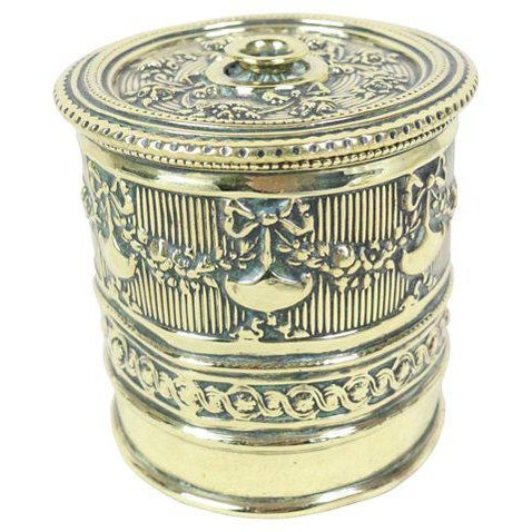 Early 20th Century English Polished Brass String Holder For Sale - Image 5 of 5