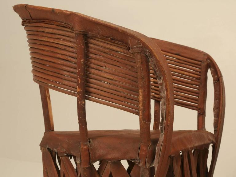 Although We Purchased These Chairs In France Just Recently, We Also  Purchased The Identical Set. Mediterranean Circa 1970s Mexican Leather ...