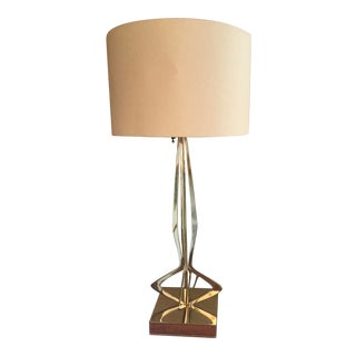 Maurizio Tempestino for Laurel Mid-Century Chrome Table Lamp For Sale