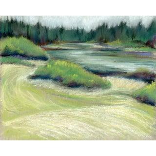 Kathleen Ney Original Pastel Landscape Study For Sale