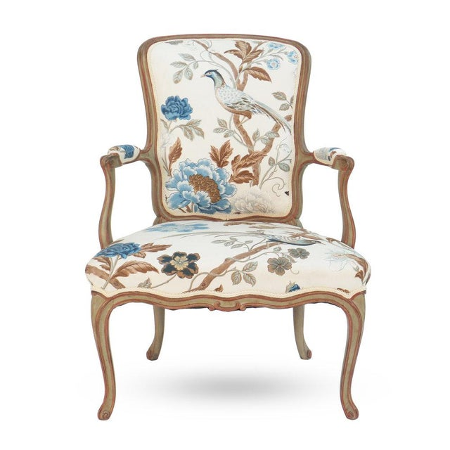Cole Porter Louis XV Style Armchair For Sale - Image 9 of 9
