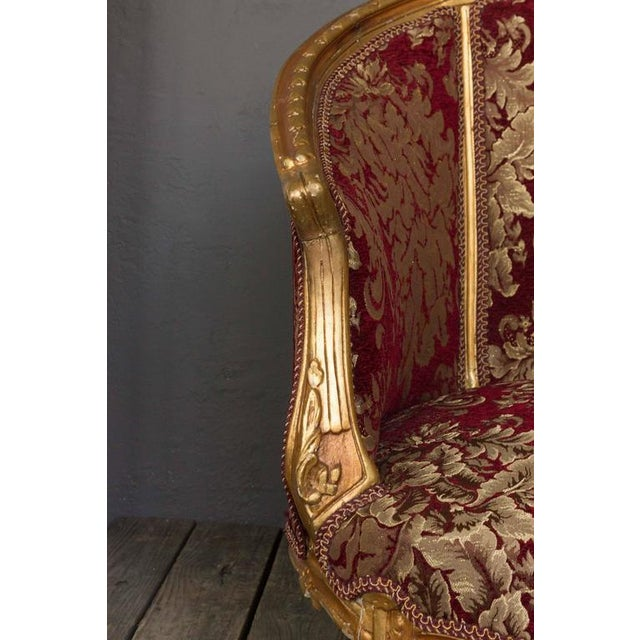 Gilt Rococo Style Marquise - Image 6 of 10