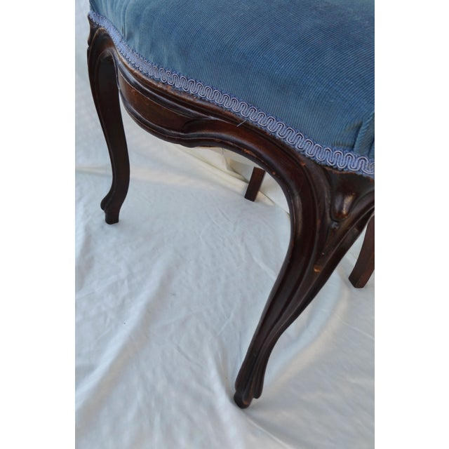 Victorian Ladies Parlor Accent Chair - Image 4 of 8