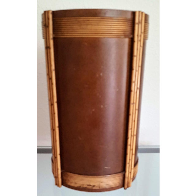1930s 1935 Art Deco Trash Can For Sale - Image 5 of 6