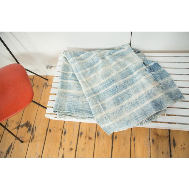 Introducing Old New House exclusive Indigo throw! Incredibly beautiful hand woven and dyed (each with the personal flair...
