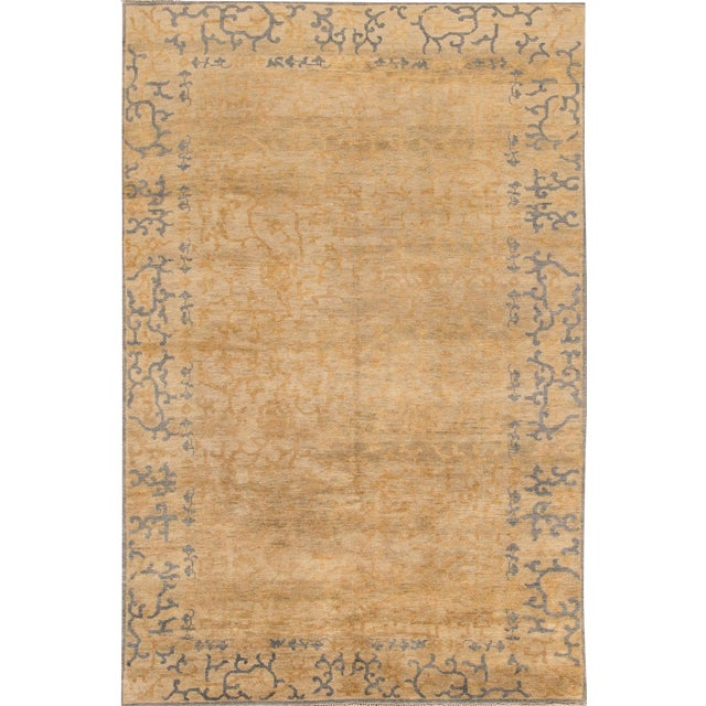 """Early 21st Century Modern Rug - 5'10"""" X 8'11"""" For Sale"""