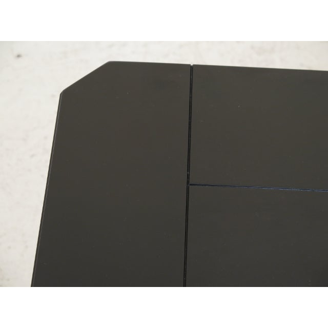 2010s Contemporary Stanley Black Coffee Table For Sale - Image 5 of 8