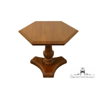 20th Century Traditional Ethan Allen Georgian Hexagonal Accent Table Preview