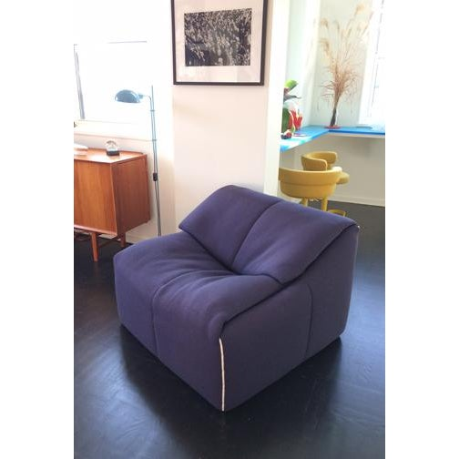 Feather Ligne Roset Plumy Armchair For Sale - Image 7 of 7