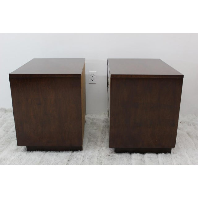 Mid Century Modern end tables/nightstands - a Pair - Image 9 of 11