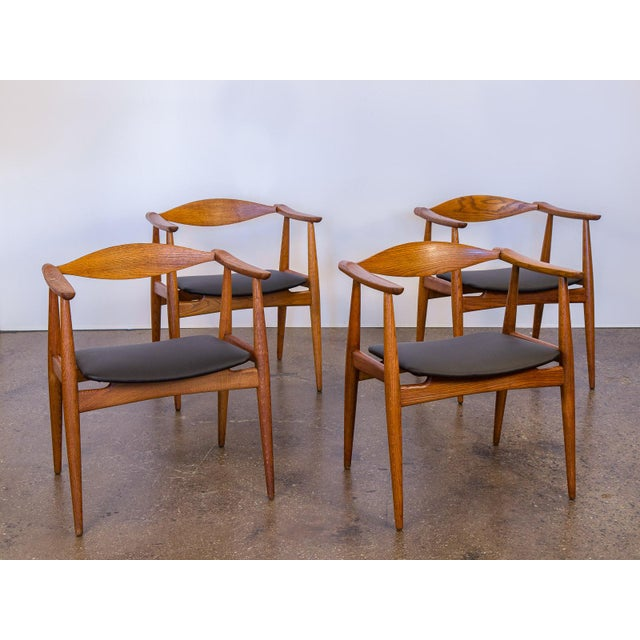 Set of Four Wegner CH-35 Armchairs - Image 2 of 11