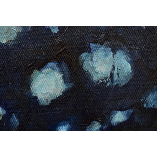 """2010s Abstract Painting, """"Magnolia in Moonlight"""", by Stephen Remick For Sale - Image 5 of 10"""