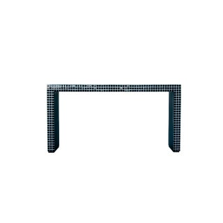 Contemporary Superstudio Console Table with Black Tiles For Sale