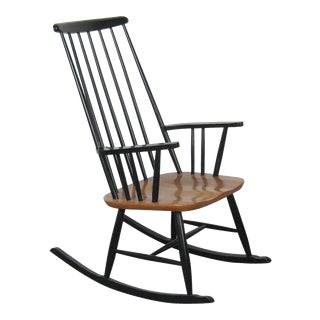 Rocking Chair by Ilmari Tapiovaara for Asko, 1950s For Sale