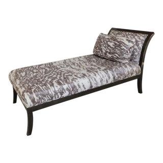 Early 21st Century J Robert Scott Essex Chaise Lounge Chair by Sally Sirkin Lewis For Sale