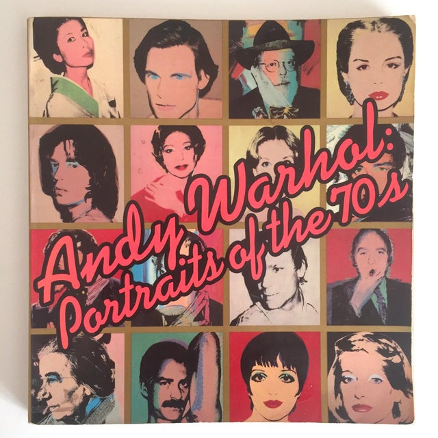 """""""Warhol Portraits of the 70's"""" Vintage 1979 Rare 1st Edition Collector's Art Book For Sale - Image 11 of 11"""