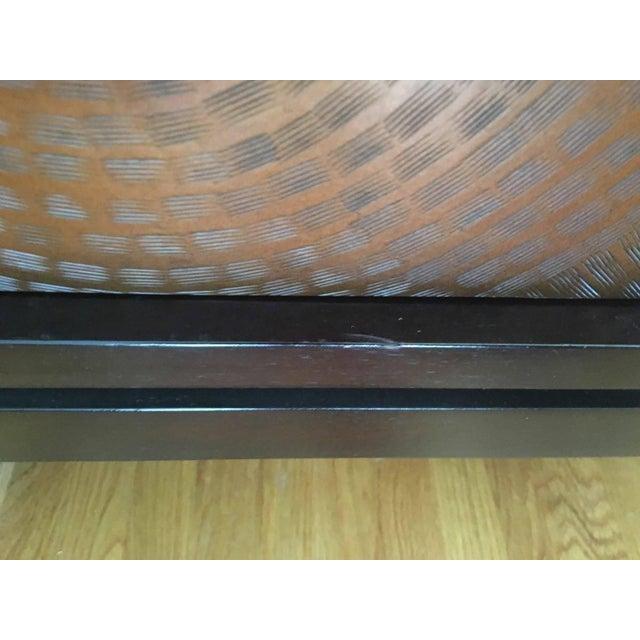 Crate & Barrel Cirque 3 Door Sideboard For Sale - Image 9 of 11