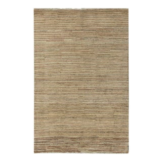 "Contemporary Hand Woven Rug - 3'10"" X 6' For Sale"