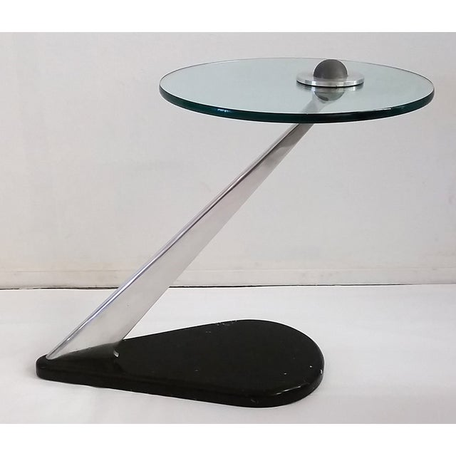 Vladimir Kagan Style Sculptural Side Table - Image 2 of 7