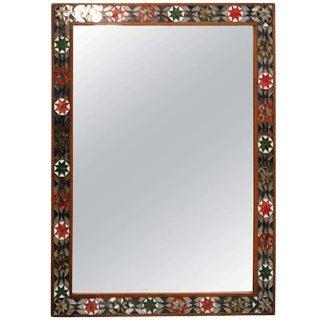 1920's Folk Art Mirror For Sale
