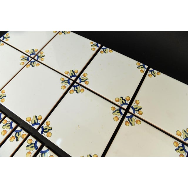 Mid-Century Porcelain Spanish Tiles - Set of 33 - Image 3 of 5