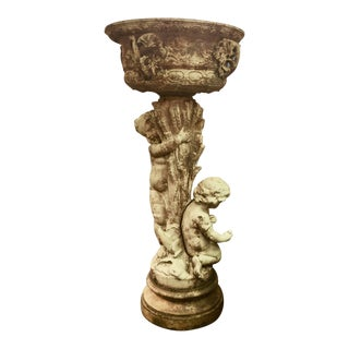 Early 19th Century Antique Louis XIV Cast Iron Planter For Sale