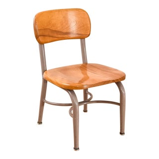 Heywood-Wakefield Vintage Mid-Century Child's School Chair For Sale