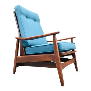 Beautiful Mid Century Modern Rocking Chair For Sale