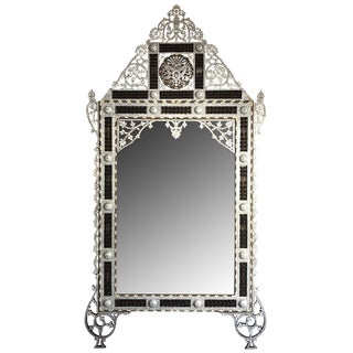 Mother of Pearl Inlay Mirror For Sale