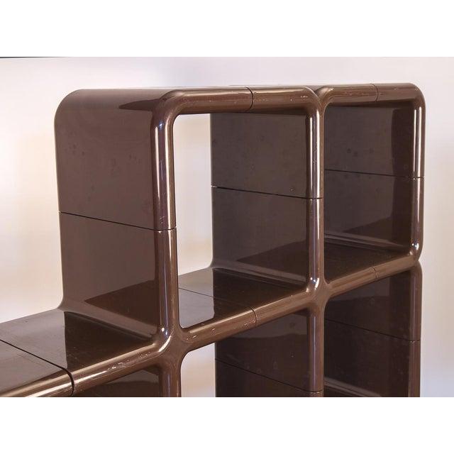 Directional Kay Leroy Ruggles Brown Umbo Modular Shelf Unit for Directional For Sale - Image 4 of 10