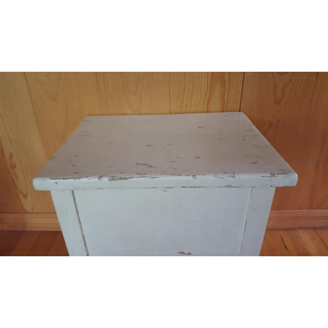 Shabby Chic Wooden Stool - Image 4 of 7