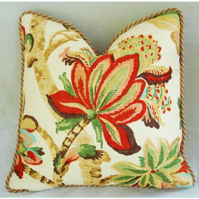 Custom Schumacher Kelmscott Manor Pillows - A Pair - Image 5 of 11
