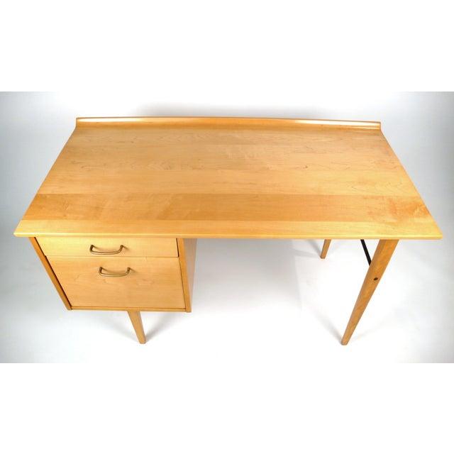Milo Baughman Early Milo Baughman Desk For Sale - Image 4 of 9