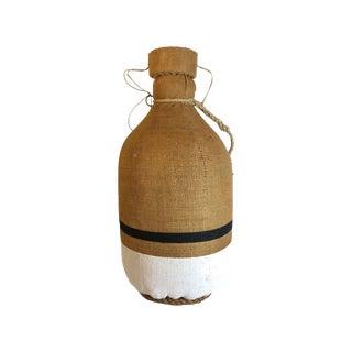Vintage Tahitian Coastal Style Sailor's Jug Vase For Sale