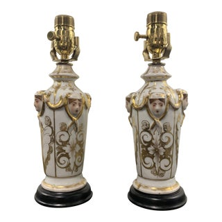 Late 18th Century Vintage French Lamps- A Pair For Sale
