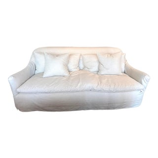 """Hazel Sofa in Otis Oatmeal Linen by Cisco Brother 84"""" For Sale"""