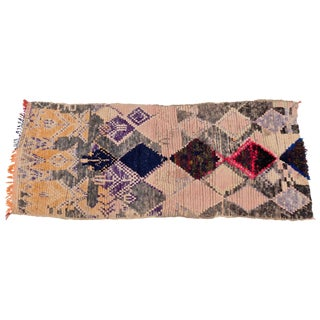 Moroccan Boujad Runner For Sale