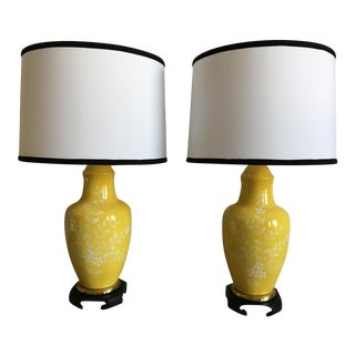 Frederick Cooper Lamps & Shades - a Pair For Sale