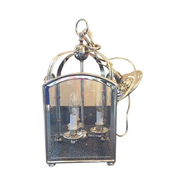 Visual Comfort Arch Top Mini Lantern in Nickel - Image 1 of 6