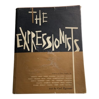 1957 the Expressionists by Carl Zigrosser Book For Sale