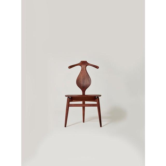 Hans Wegner Valet Chair, Made by Johannes Hansen, Denmark, 1950s-1960s For Sale - Image 11 of 11