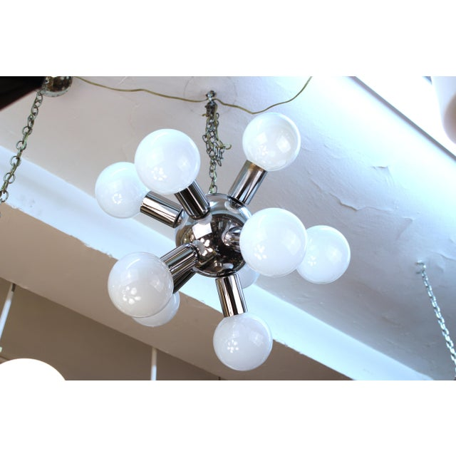 Atomic Age Molecular Chandelier For Sale In New York - Image 6 of 6