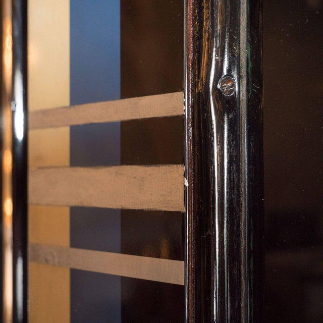 Art Deco Bakelite and Black Lacquer Doors or Theatre Screens by Robert Eberson For Sale - Image 10 of 11