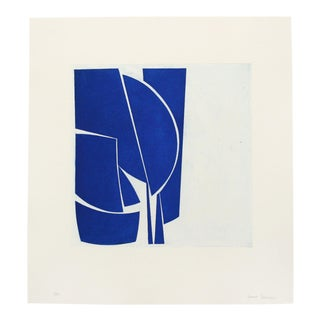 "Joanne Freeman ""Covers 1 Cobalt"", Print For Sale"