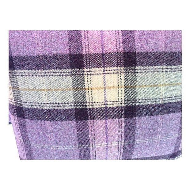Scottish Wool Plaid Pillows - A Pair - Image 2 of 3