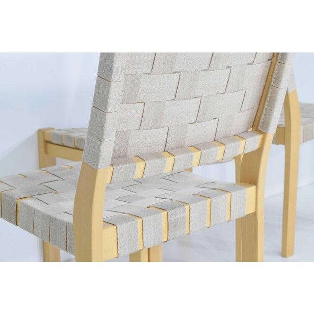 Wood Alvar Aalto 615 Chairs by Artek - Set of 8 For Sale - Image 7 of 10