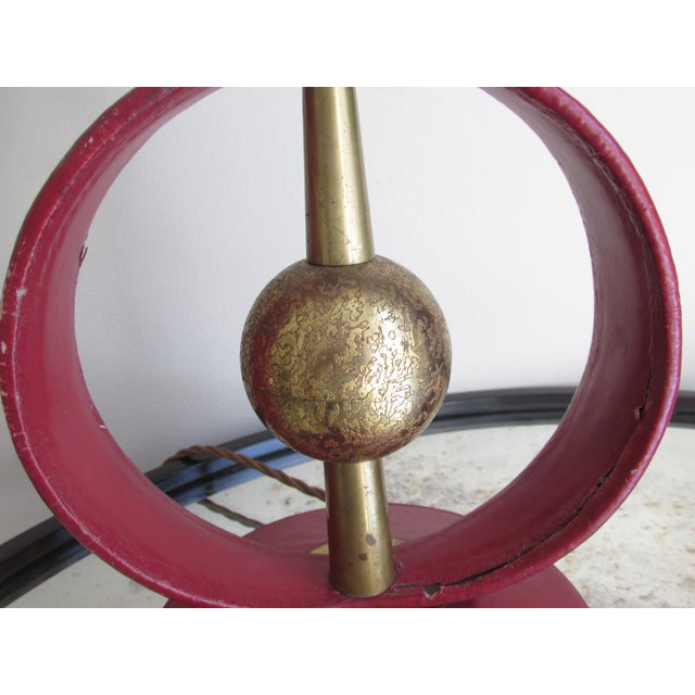 Jacques Adnet Attributed Lamp For Sale - Image 4 of 7