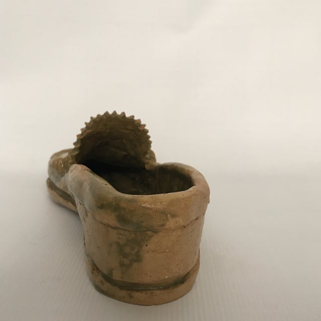 Pottery Loafer Sculpture For Sale - Image 5 of 11