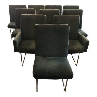 1970s Vintage Milo Baughman for Thayer Coggin Dining Chairs- Set of 4 For Sale